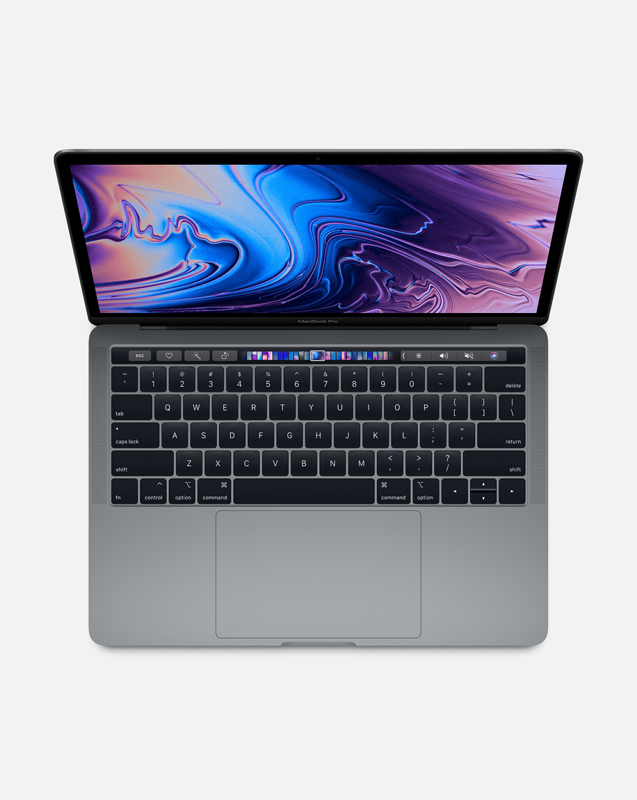 MacBook Pro 13-inch with Touch Bar: 2.3GHz Quad-core Intel Core i5, 256GB - Space Gray
